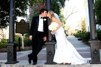 Wedding Photo at UGA Arch