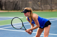 Oconee Girls Varsity Tennis vs Athens Academy 2018