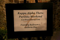 Theta Parents Weekend Banquet 2013