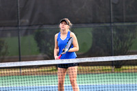 Oconee vs Athens Academy in Girls Varsity Tennis 2018